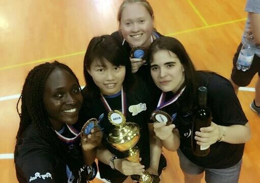 P13 médaillées