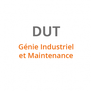 DUT Genie Industriel et Maintenance