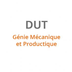 DUT Genie Mécanique et Productique