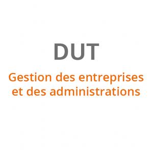 DUT Gestion des Entreprises et des Administrations