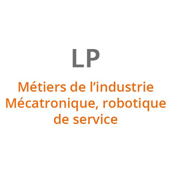 Métiers de l'industrie - Mécatronique, robotique de service