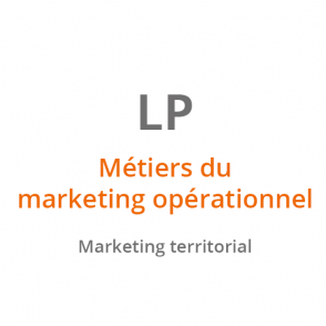 LP Métiers du Marketing Opérationnel : Marketing Territorial