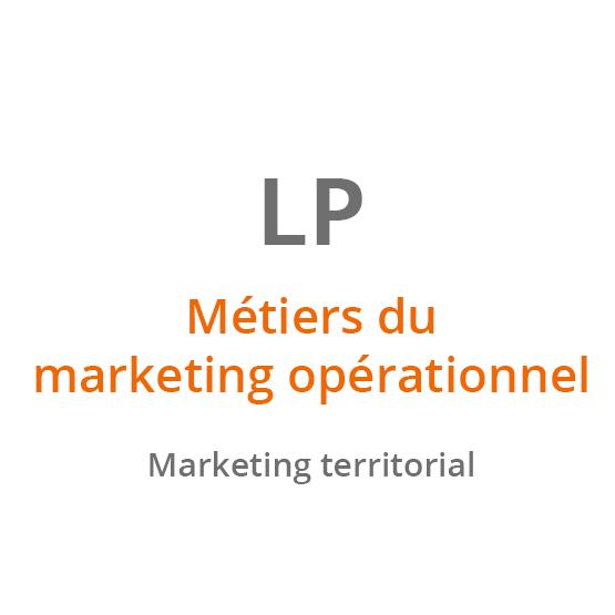 LP Métiers du marketing opérationnel