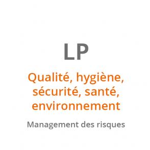 LP Qualité, Hygiène, Sécurité, Santé, Environnement : Management des Risques