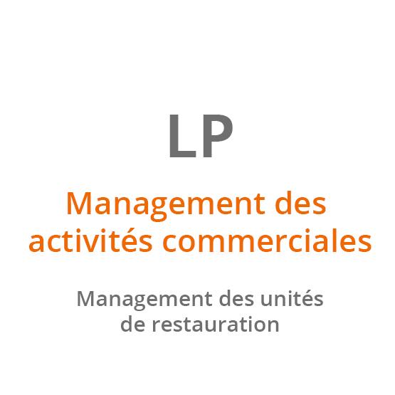 LP Management des activités commerciales