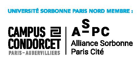 logo Campus Condorcet - Association Sorbonne Paris Cité